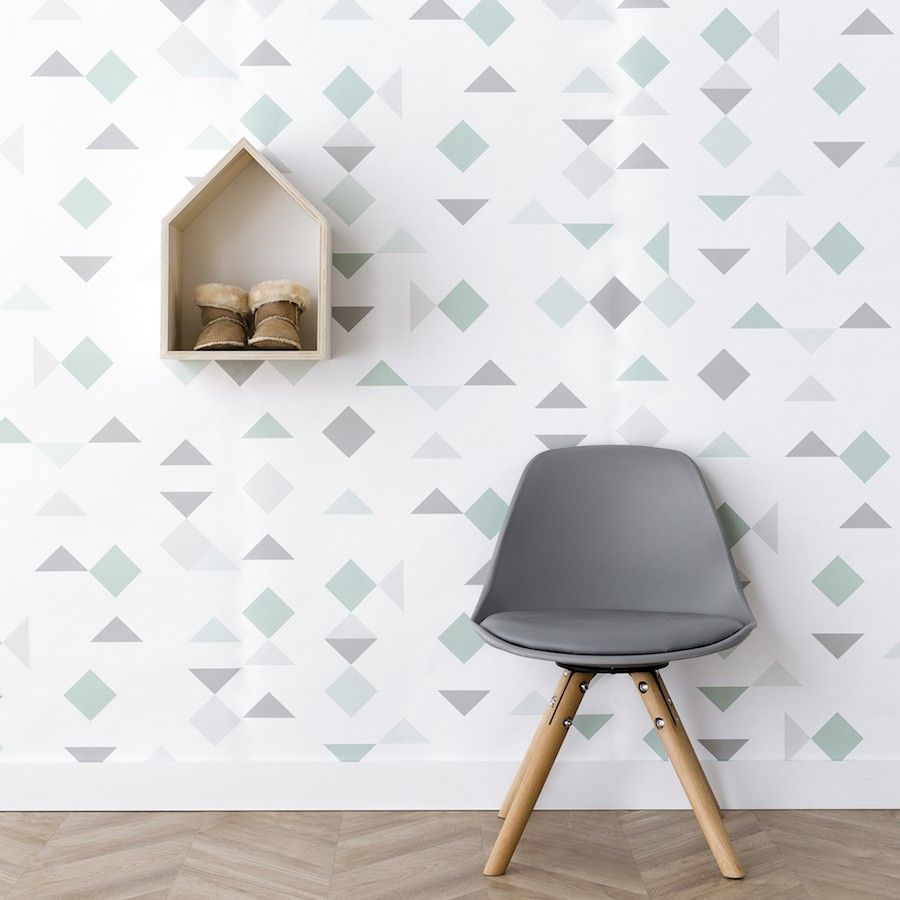 Mini scandinavian cadeira cinzento