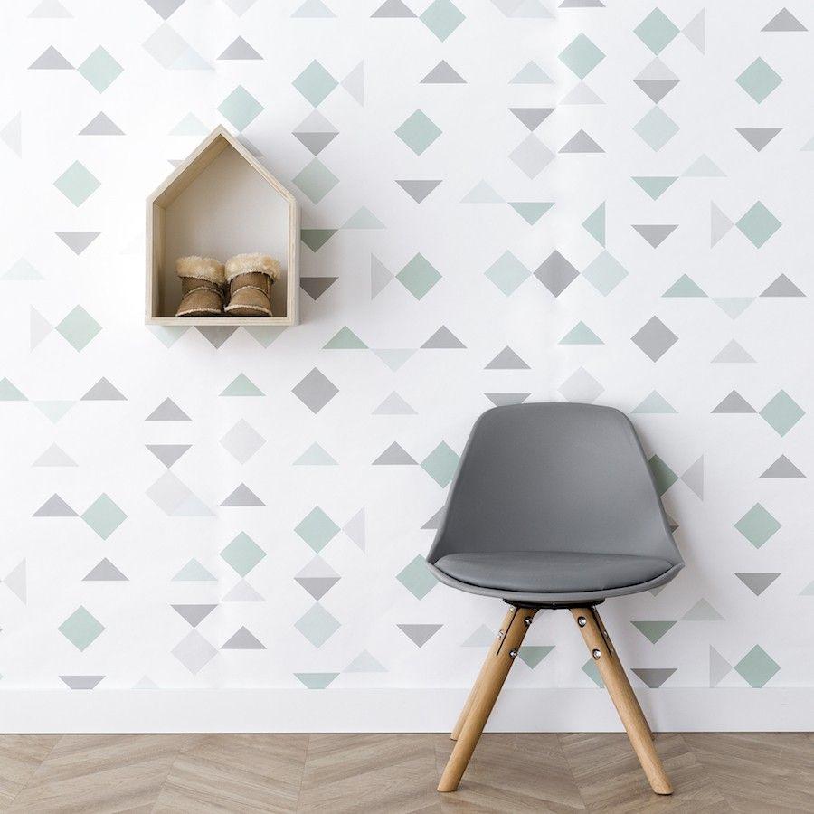 Mini scandinavian silla gris