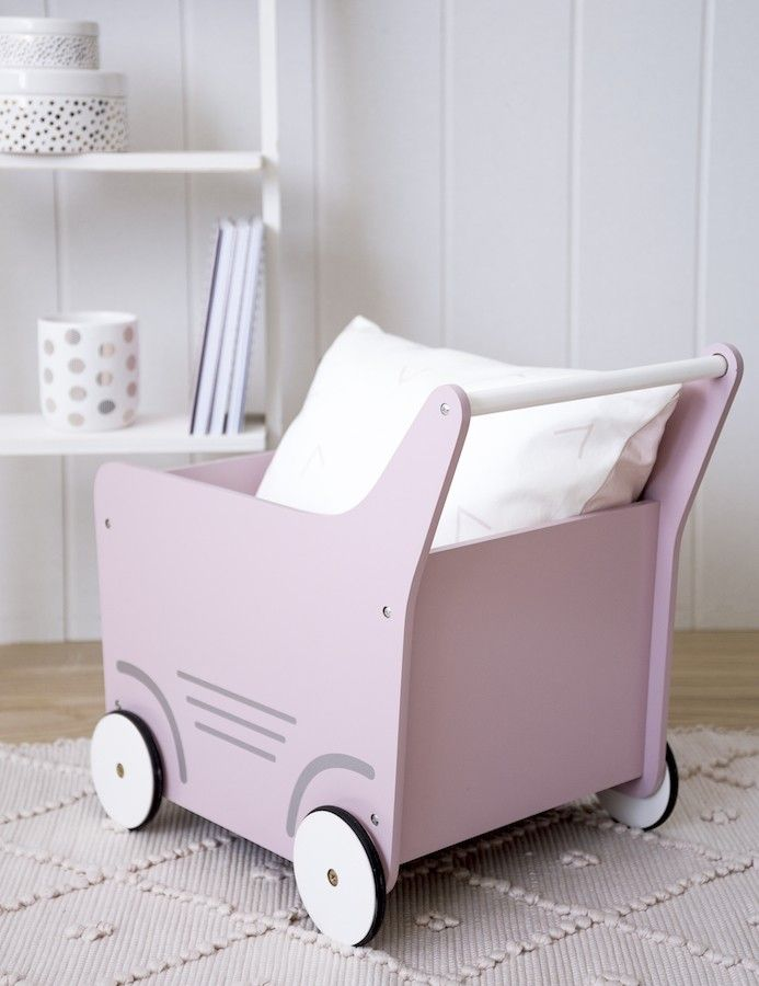 Buggy carrito rosa