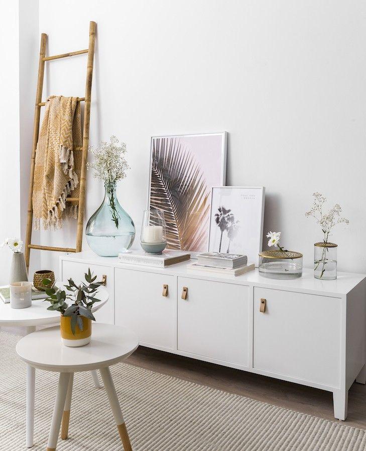 Liv mueble tv blanco