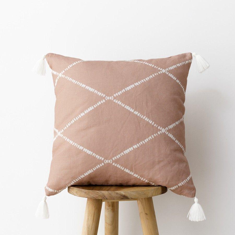 Rummi almofada rosa 45x45
