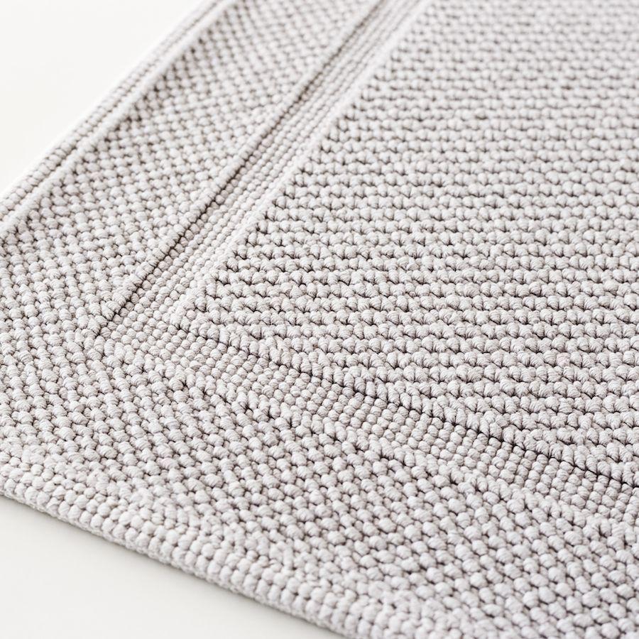 Basic alfombra de baño gris