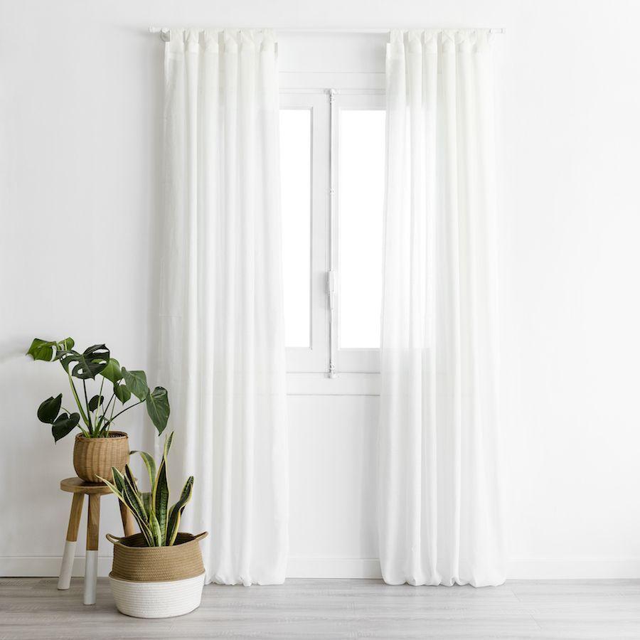 Aris cortina blanca