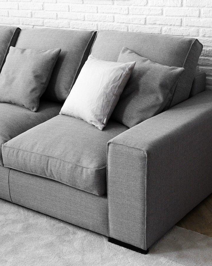 Sof evol tapizado en tela kenay home - Tela tapizado sofa ...
