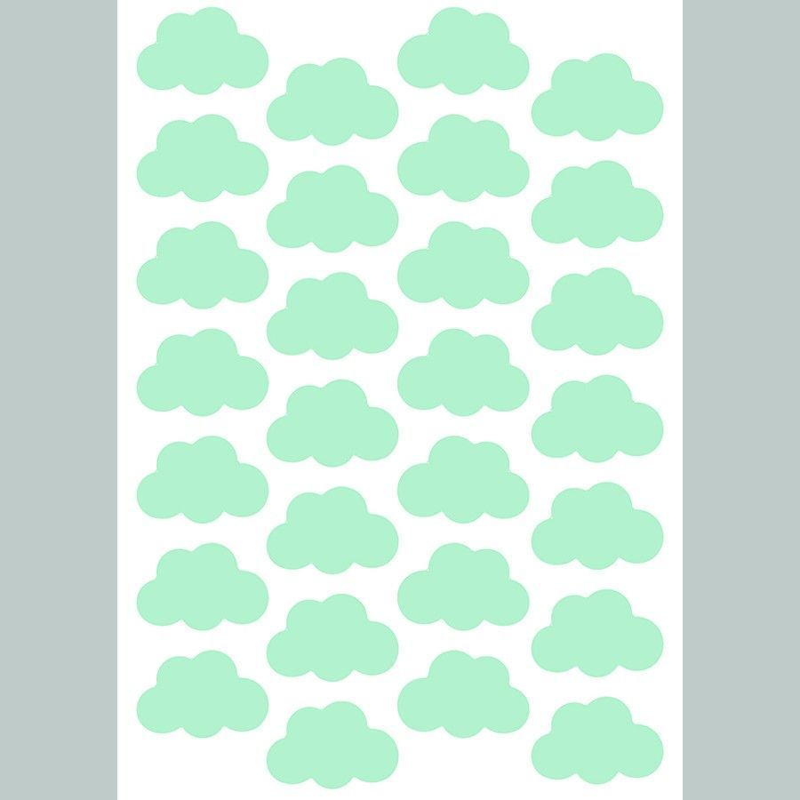 Clouds mint vinilo