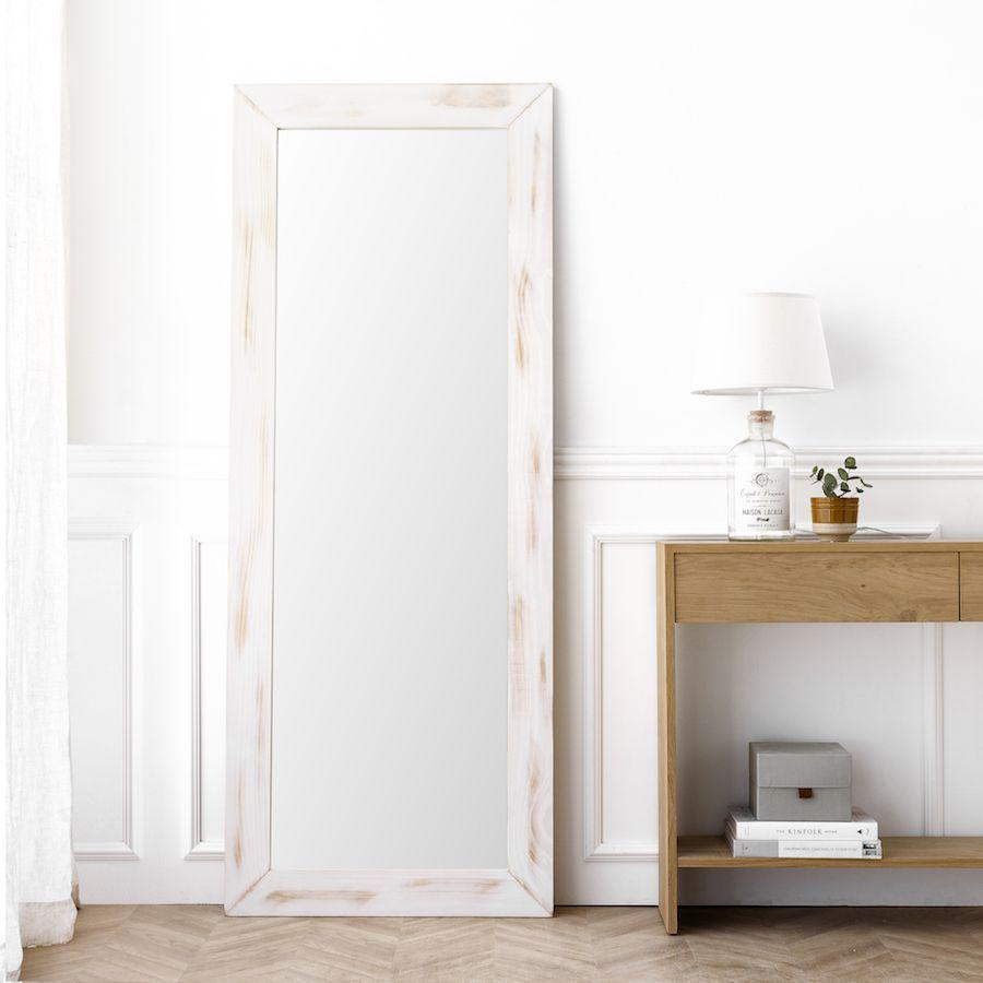 Lise Espelho Branco 180X70