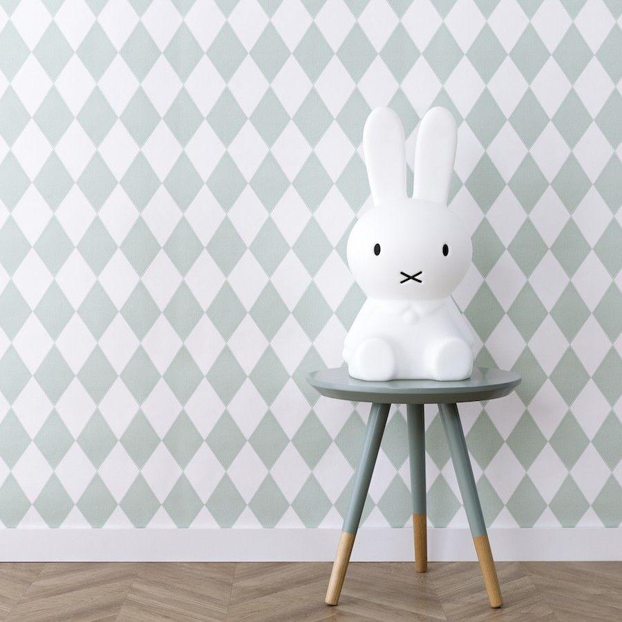 Harlequin wallpaper menta