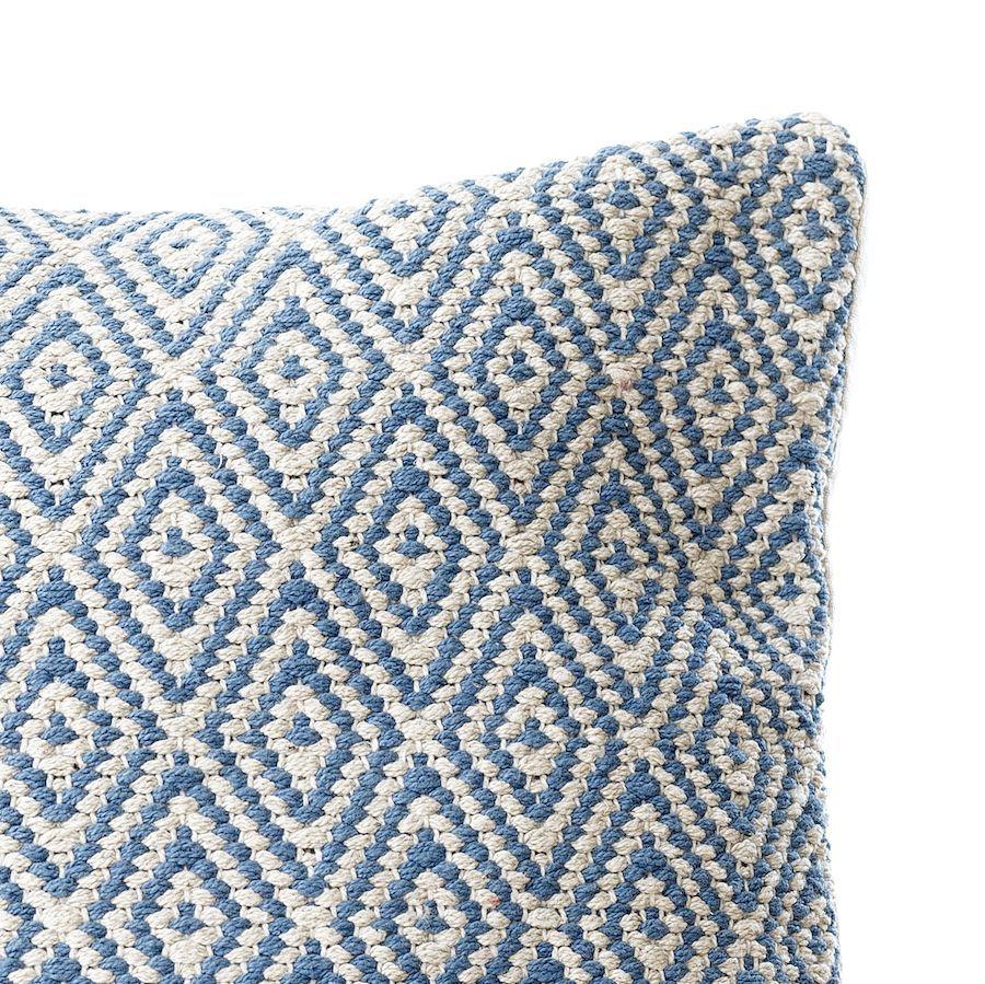 Bawe almofada 45x45 azul