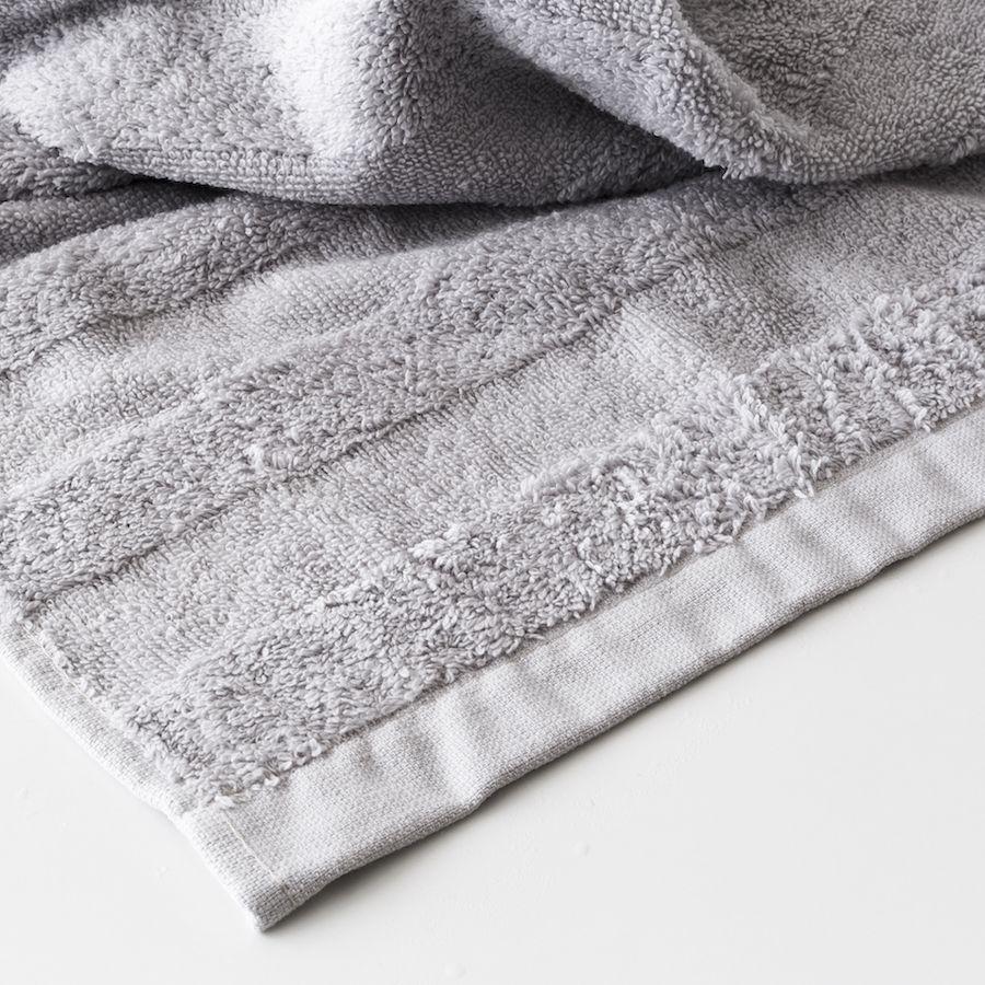 Set toalhas Basic cinzento