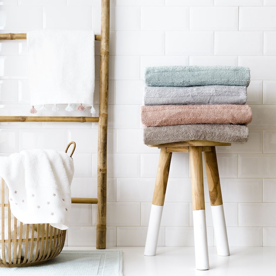 Basic set de toallas gris