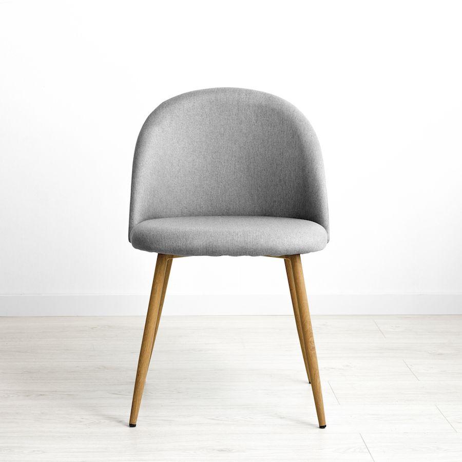 Odette cadeira cinzenta