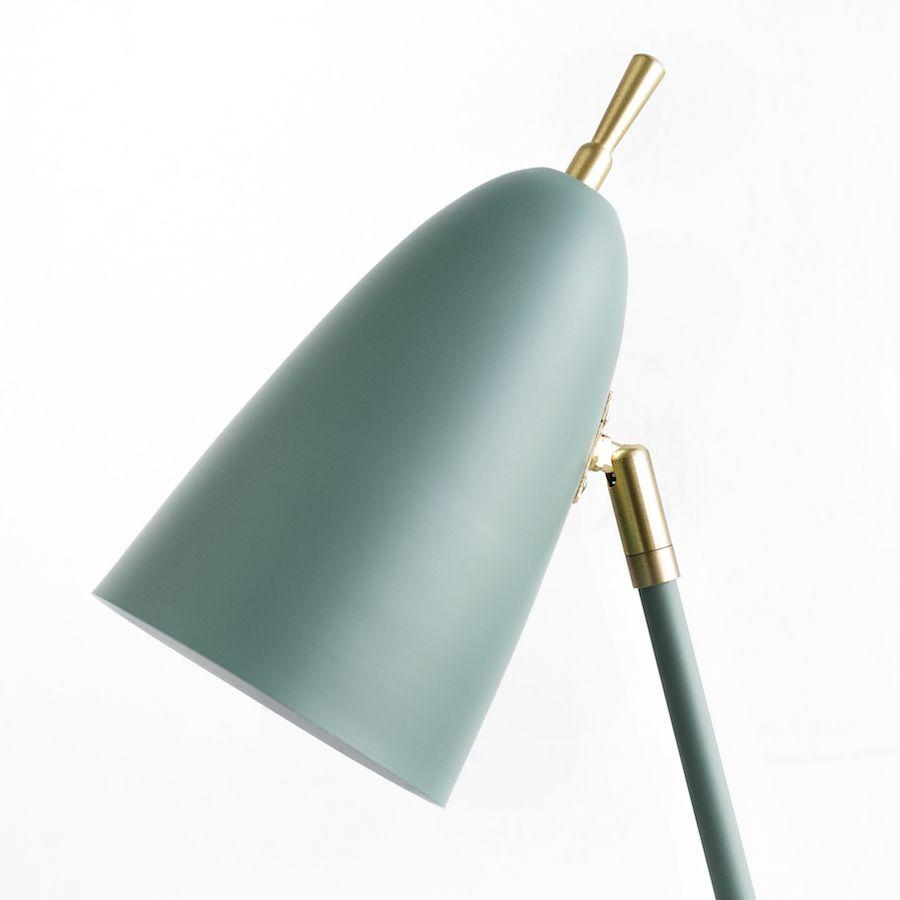 Pat lámpara de sobremesa verde