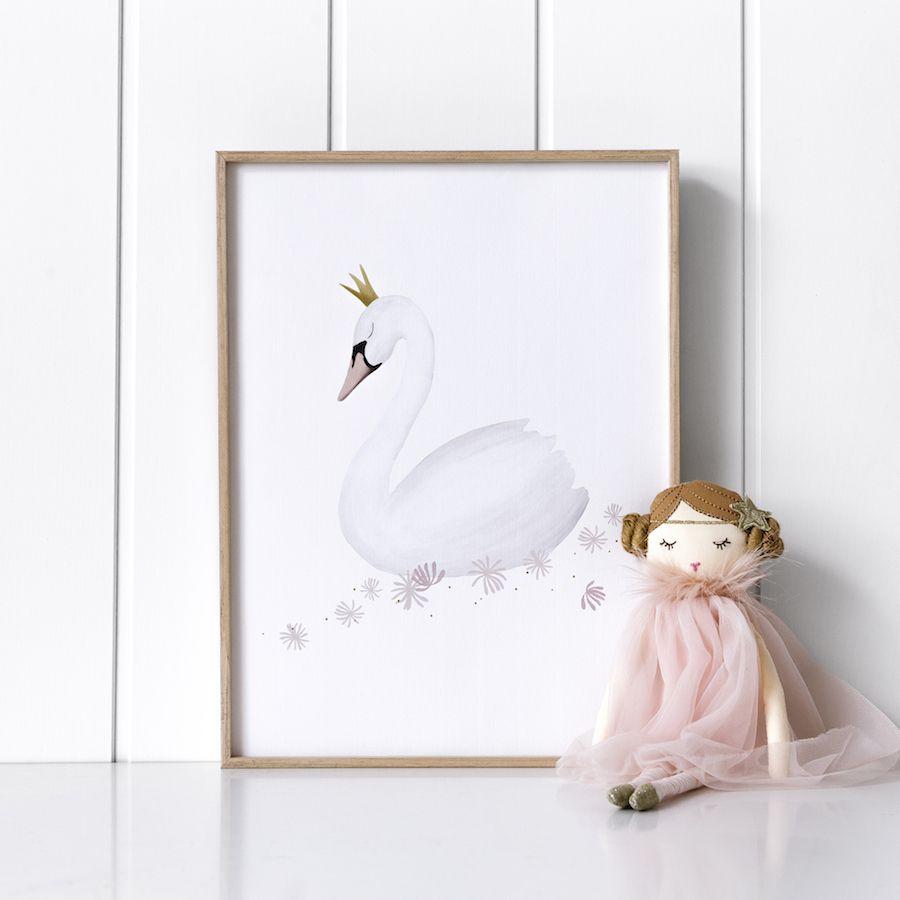 Sweet cisne póster
