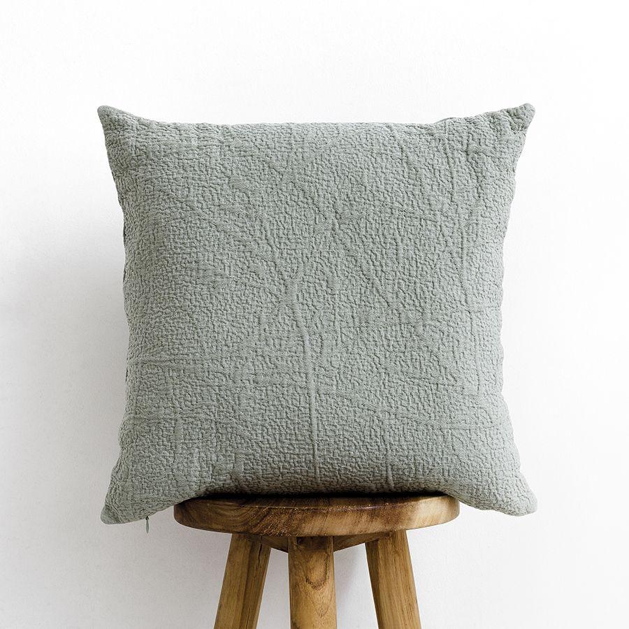 Bren almofada verde