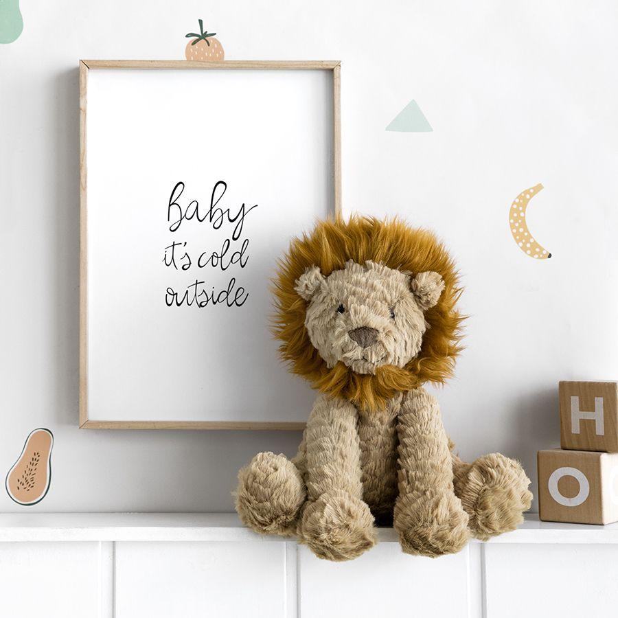 Fufy leon peluche