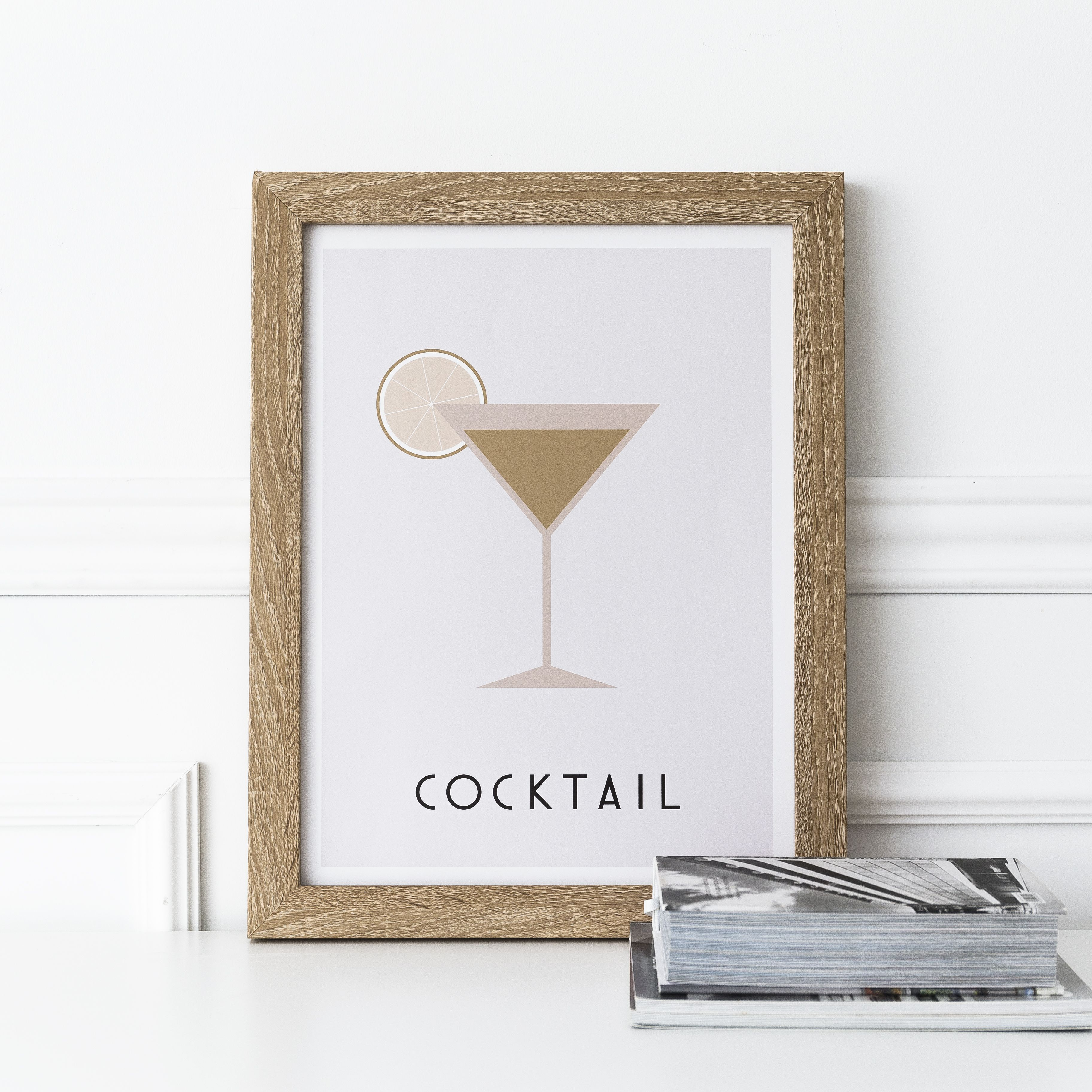 Cocktail láminaA3