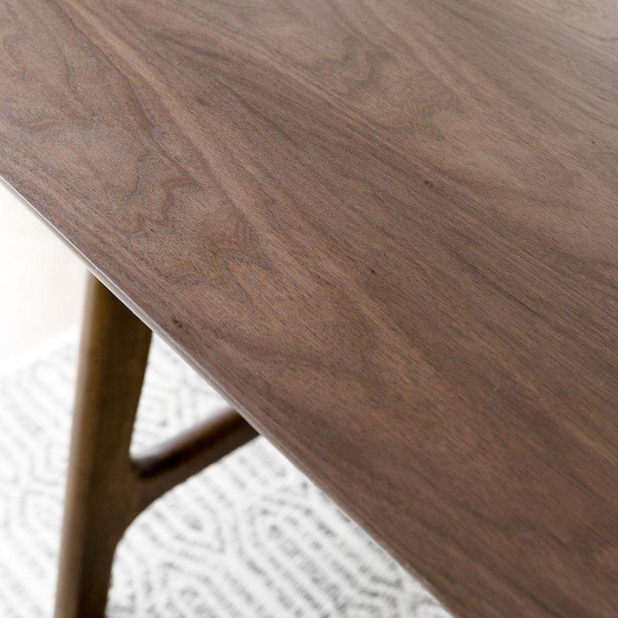 Mesa de nogueira cinza 180cm