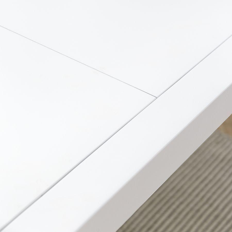 Lane mesa extensible blanca 140