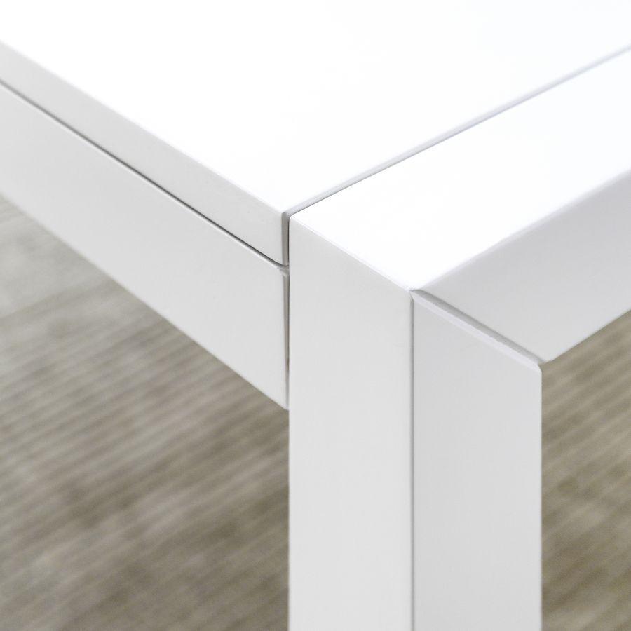 Lane mesa extensible blanca
