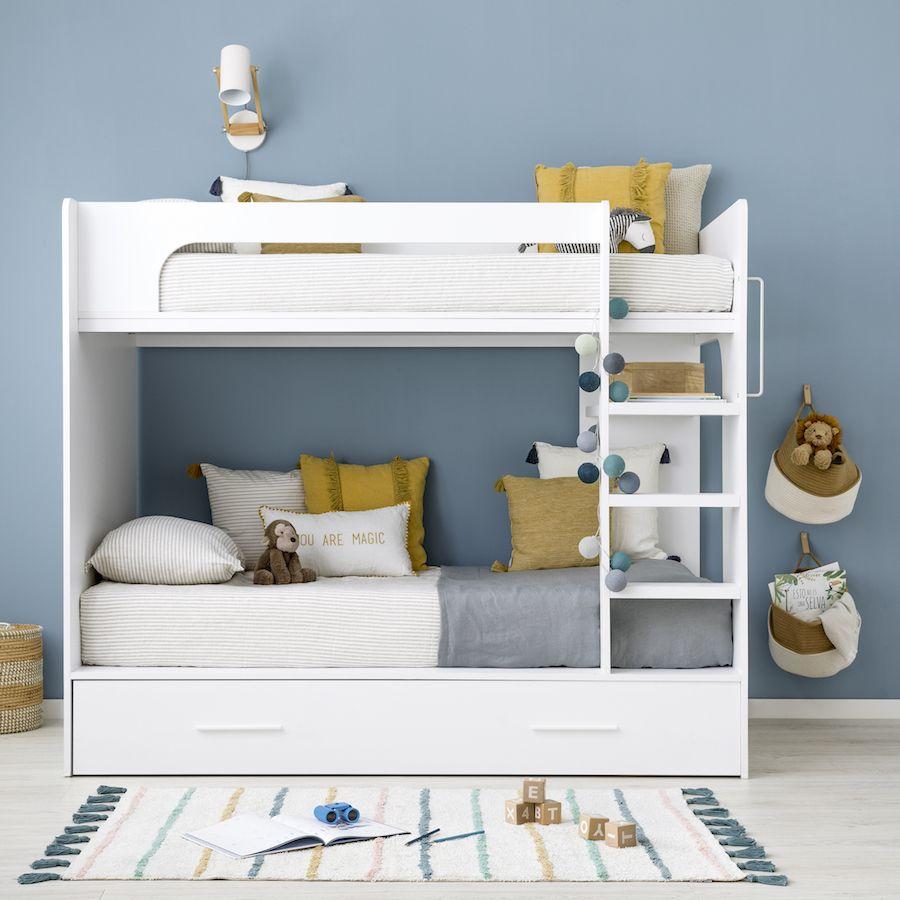 Neira beliche com cama nido