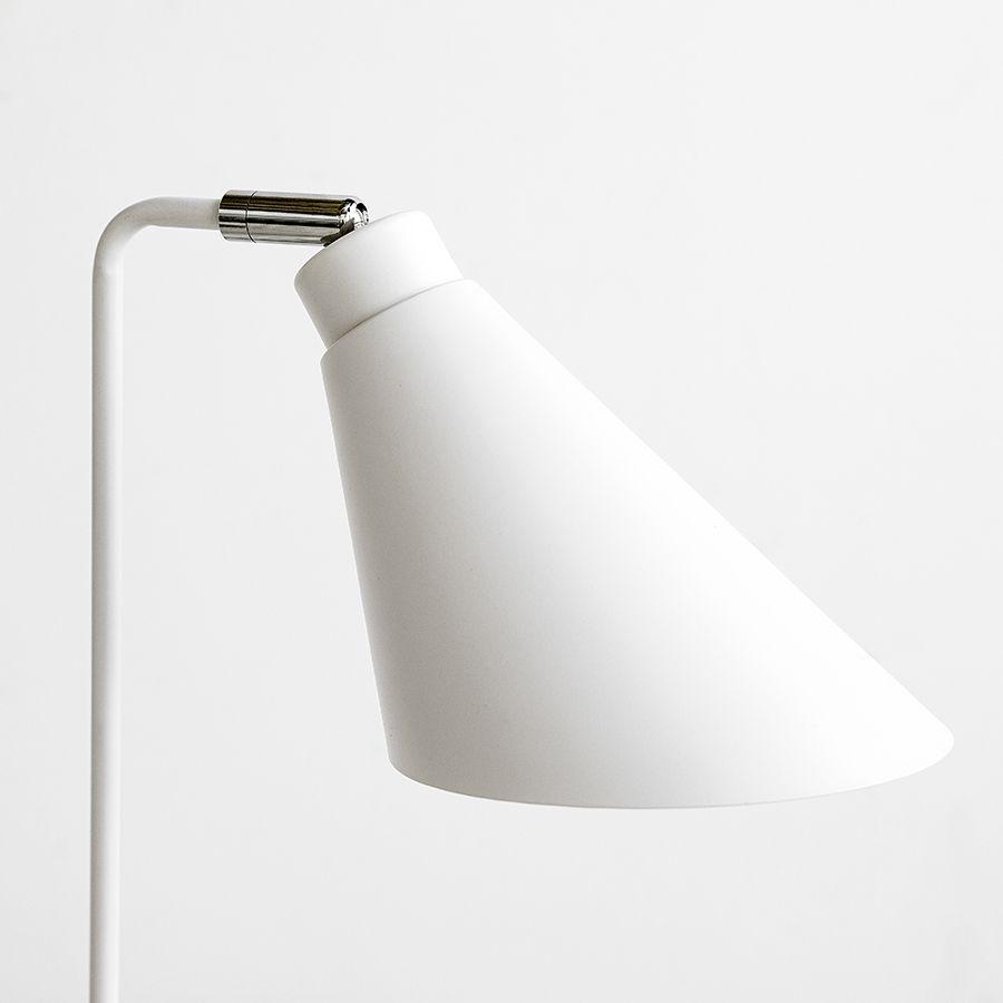 Seren lámpara de sobremesa blanca