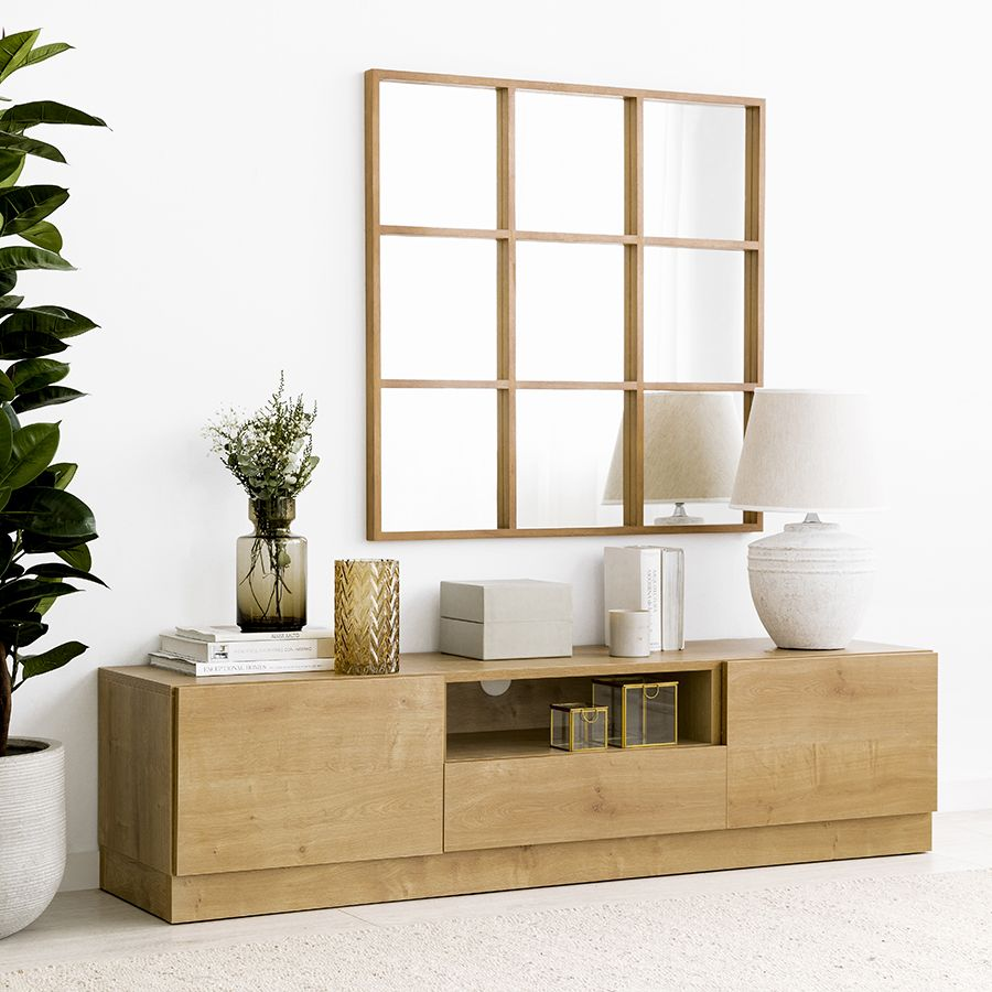 Ellen mueble de TV 160cm con zócalo