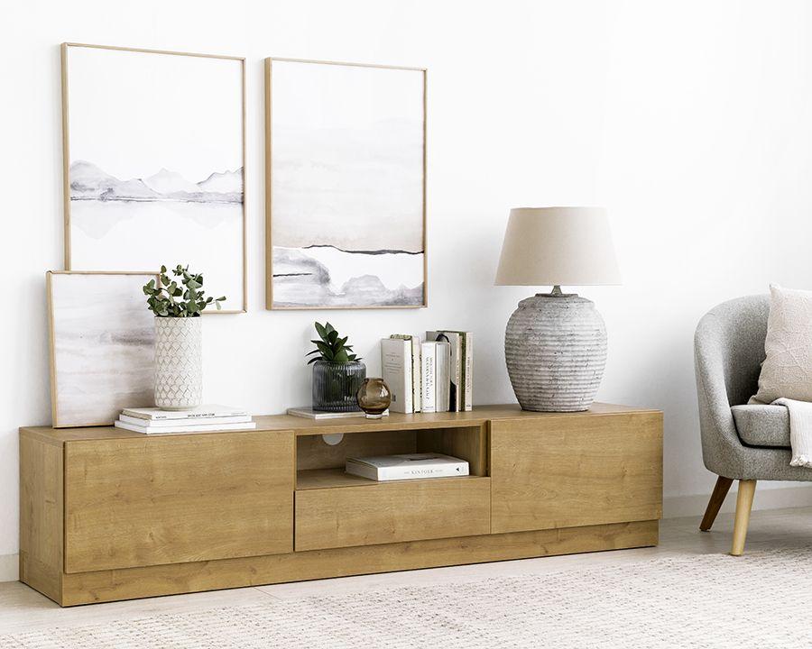 Ellen mueble de TV 180cm con zócalo