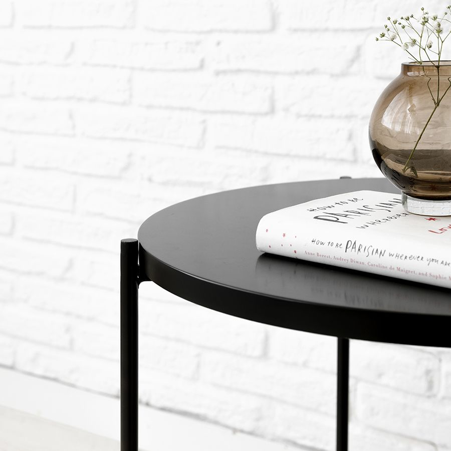 Adis mesa auxiliar negra