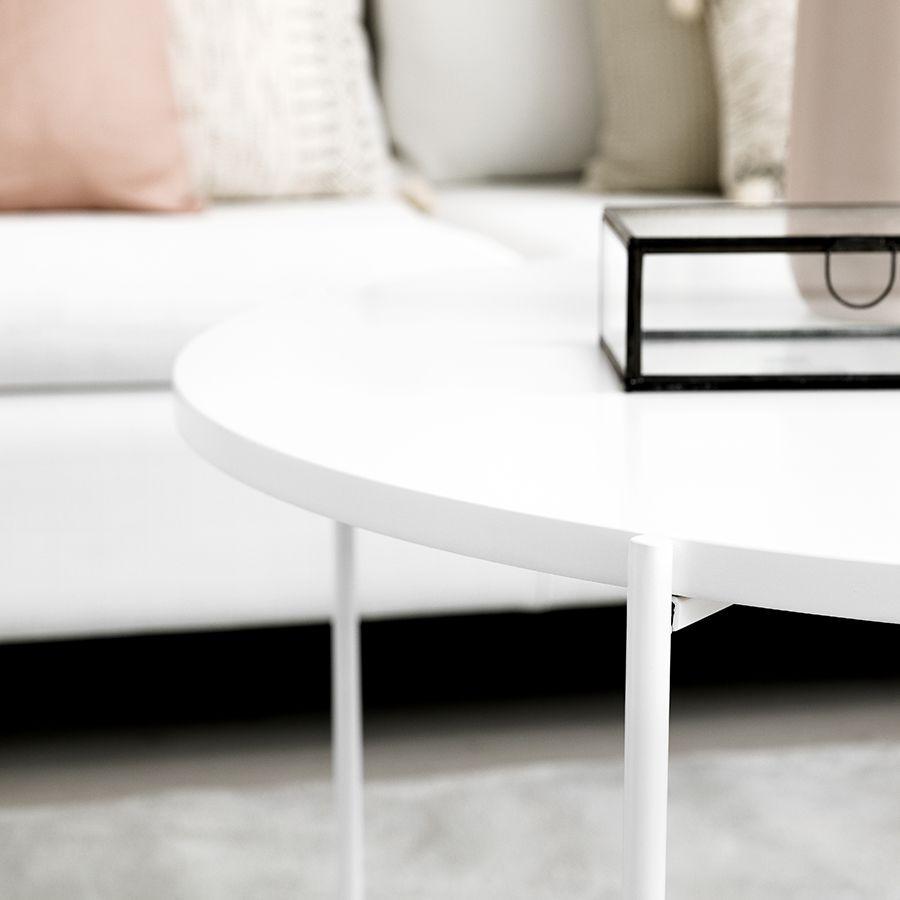 Adis mesa de centro branca