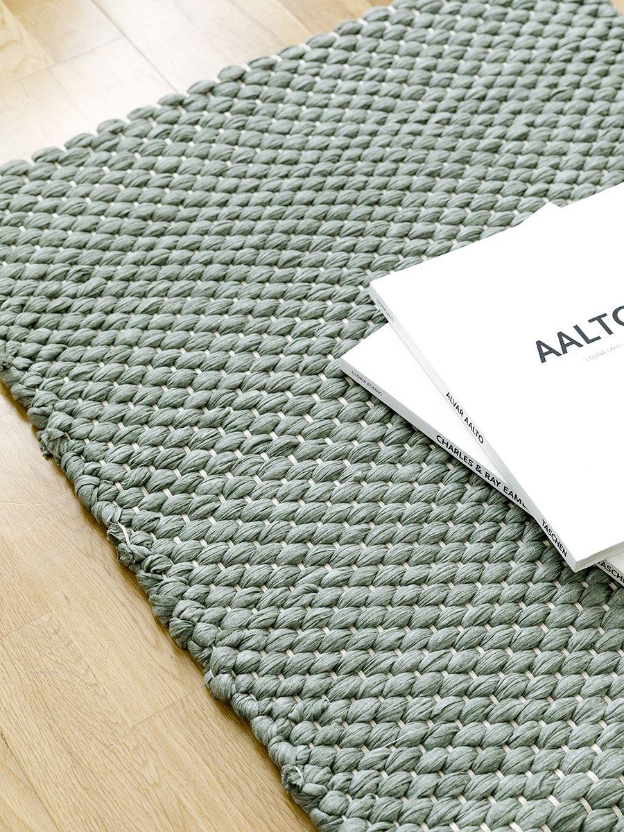 Braid alfombra verde