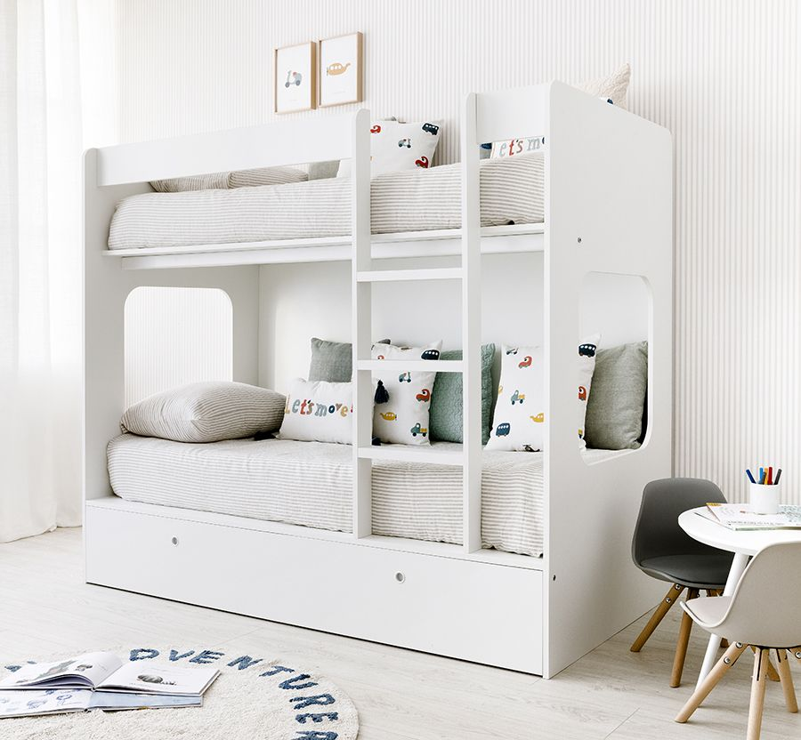 Tier litera con cama nido