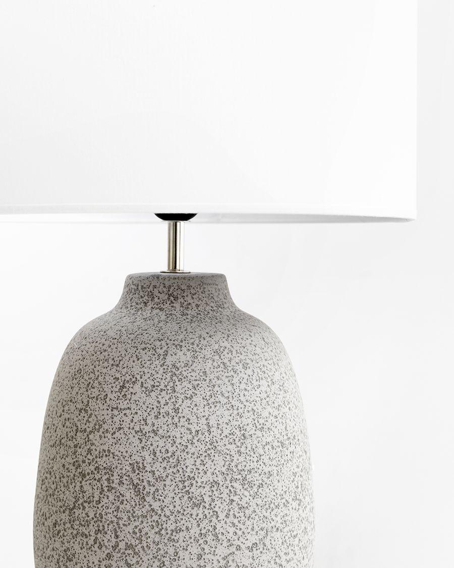 Rustic lámpara de sobremesa