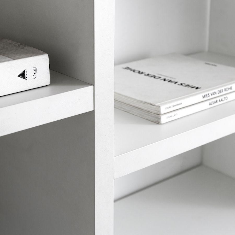 Orise estantería blanca M