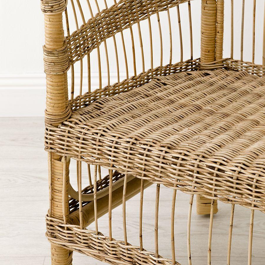 Cadeira de palmeira