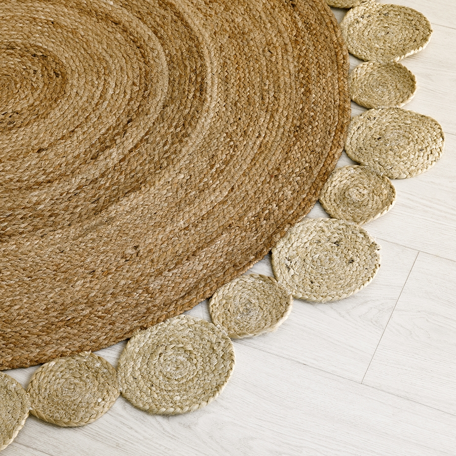 Circle alfombra natural