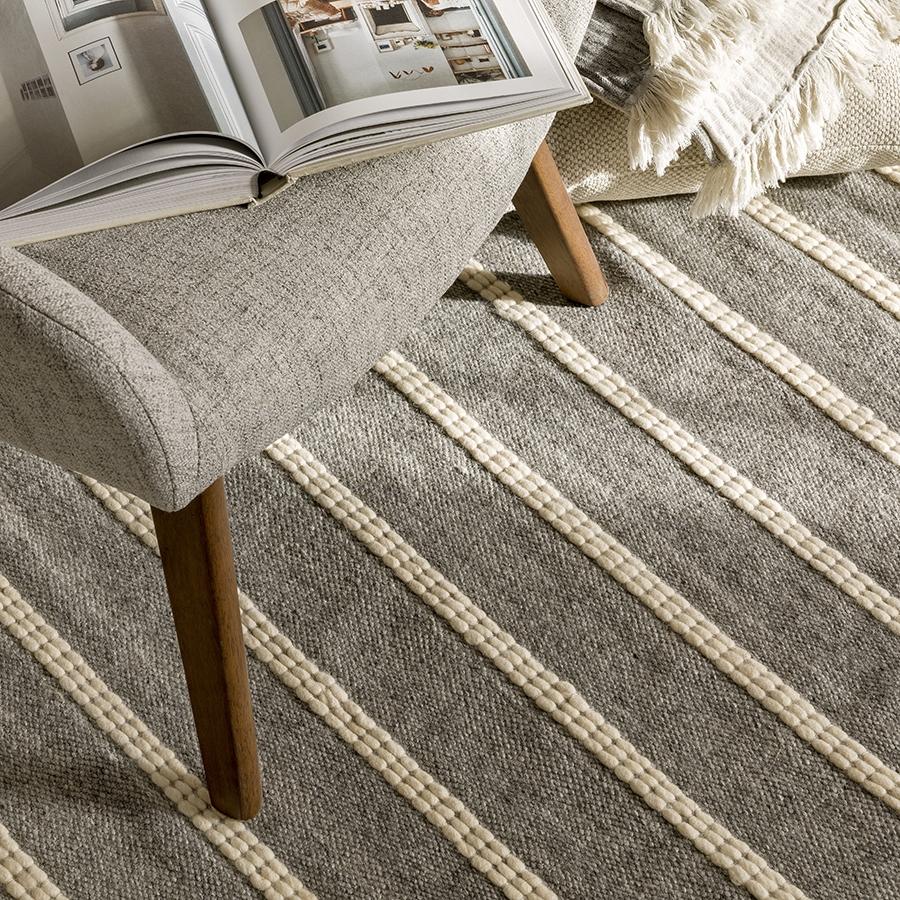 Dana alfombra gris
