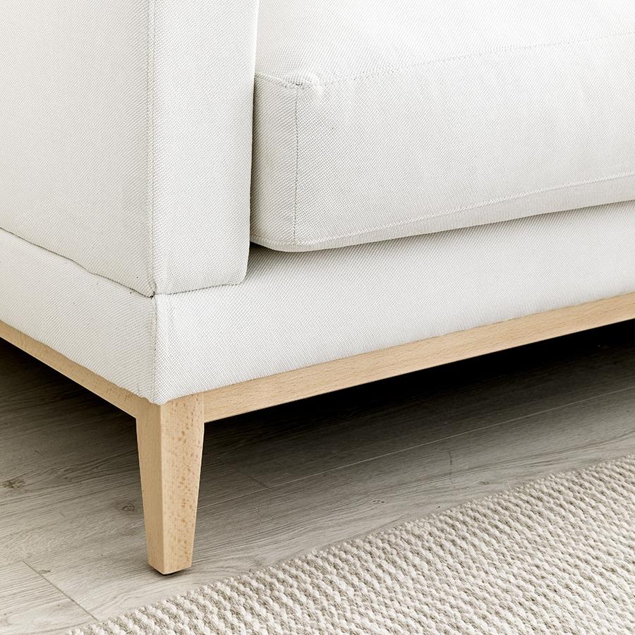 Penta sofá patas natural 3 plazas