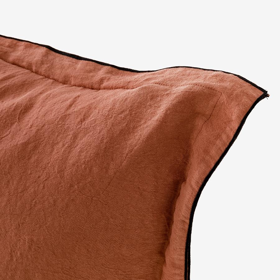 Almofada de terracota lisa