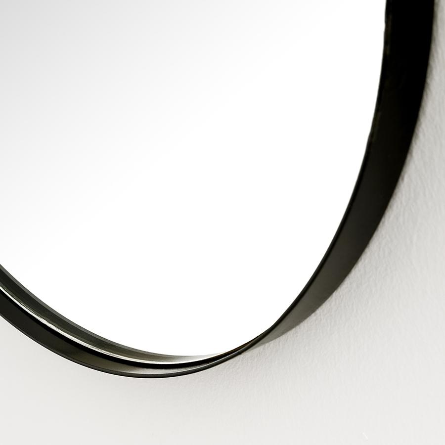 Egel espejo negro grande