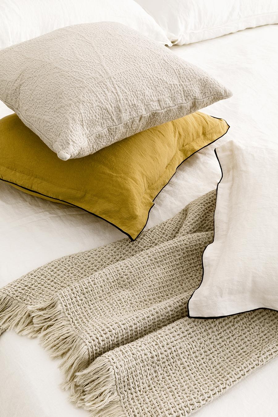 Pack textil mostaza