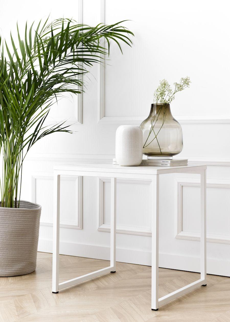 Neri mesa auxiliar porcelánico