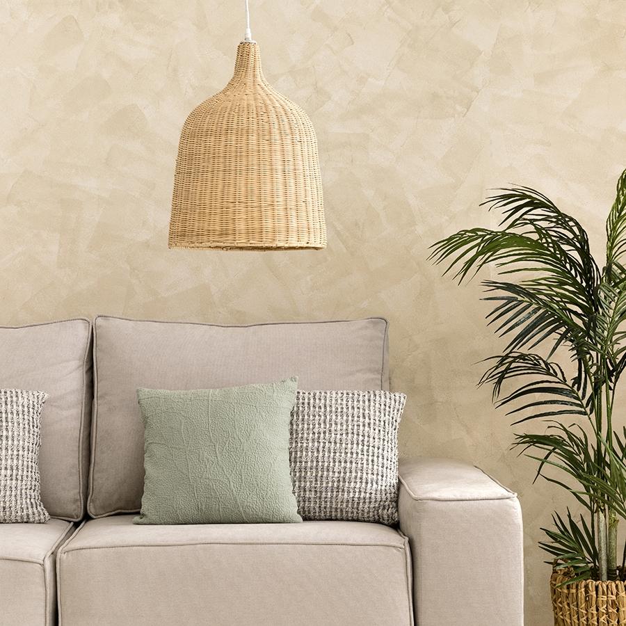 Tula lámpara de techo natural
