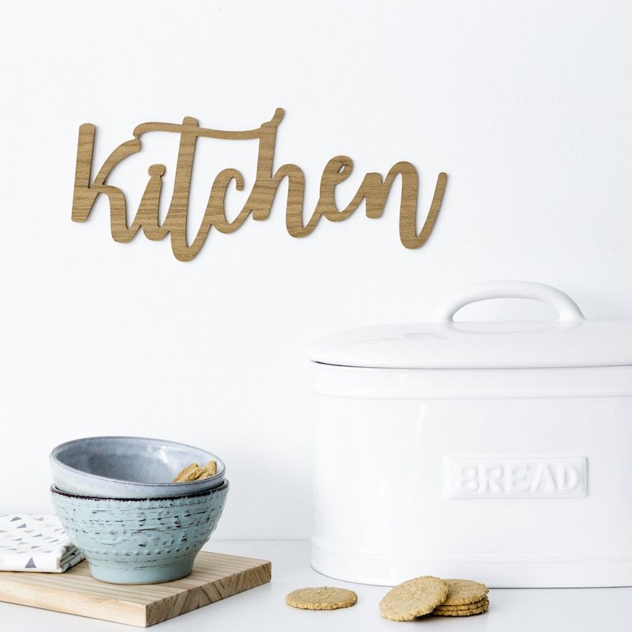 Kitchen lettere
