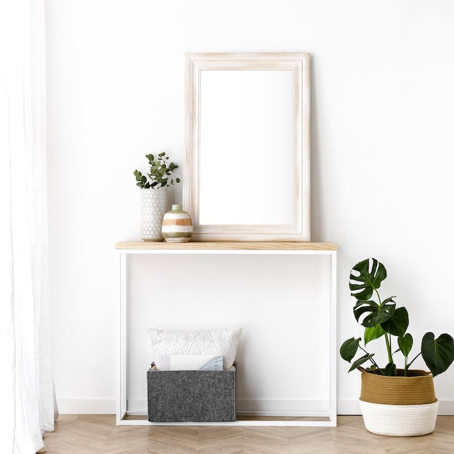 Nima specchio Bianco 60X90