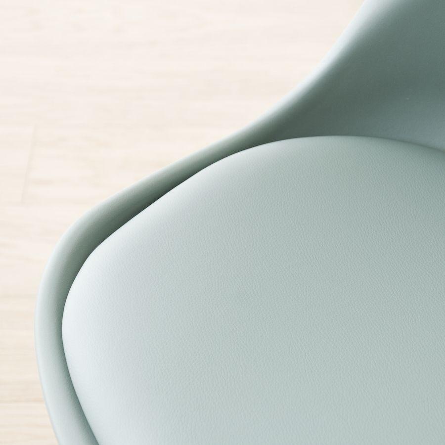 Scandinavian sedia verde