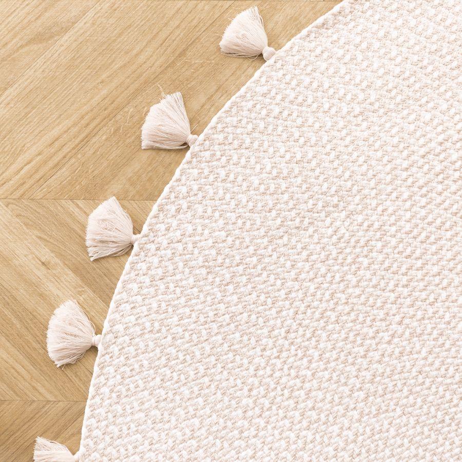 Circle tappeto Rosa 120x120