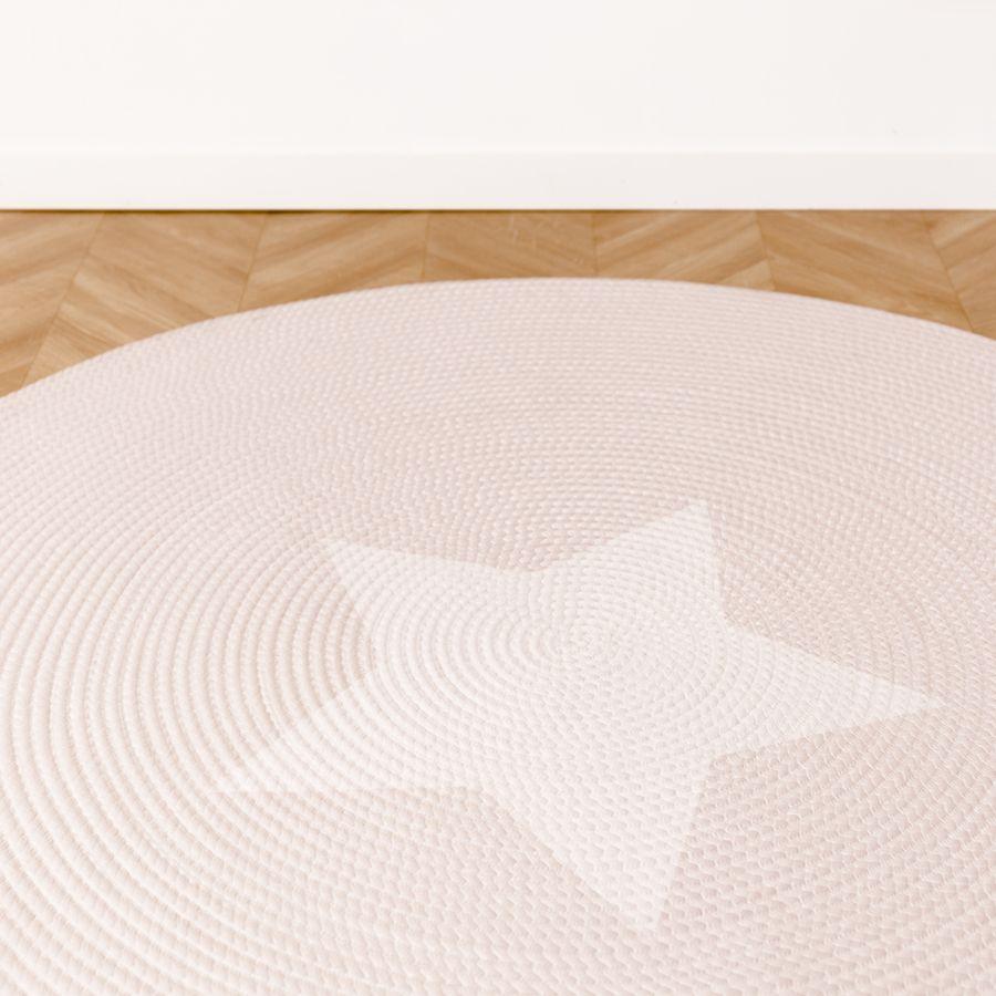 Stars tappeto Rosa 140x140