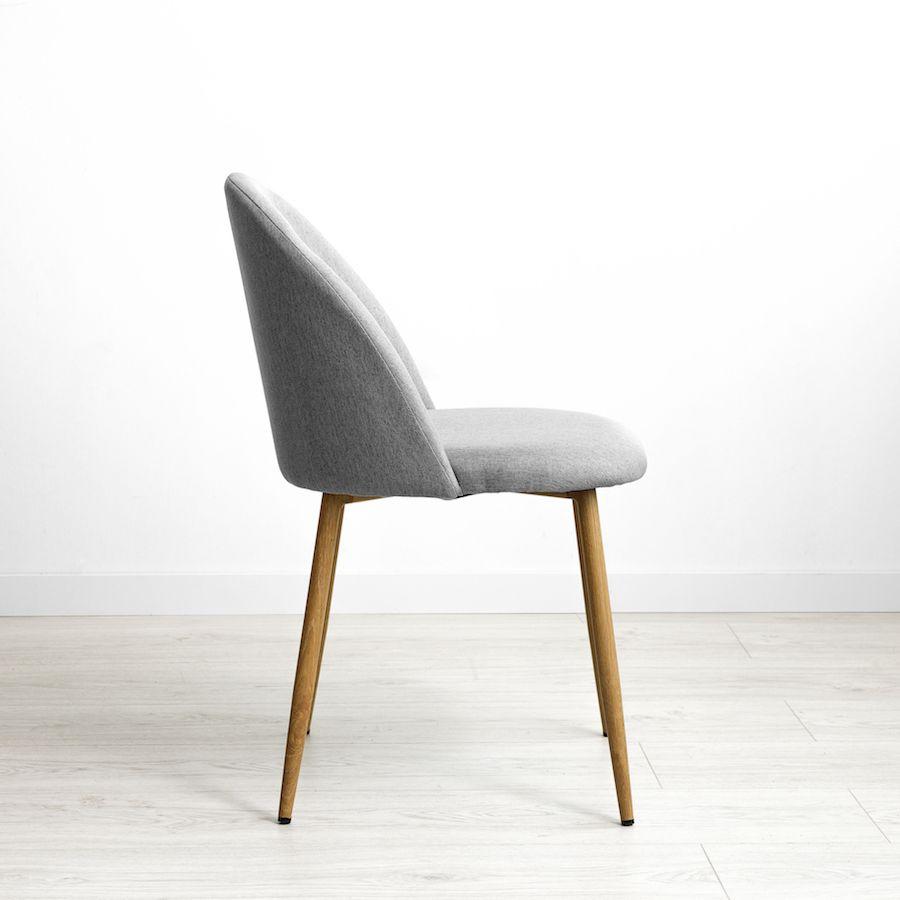 Odette sedia grigio