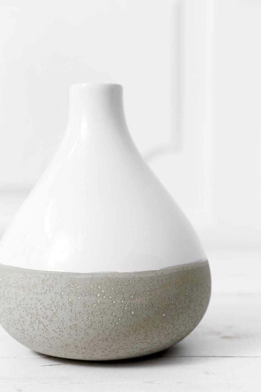 Curve vaso bianco