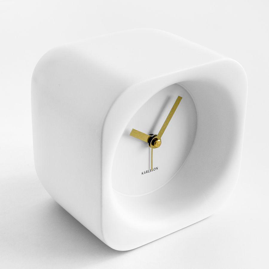 Qbic orologio bianco